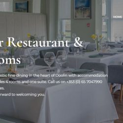 Web Design for Restaurant