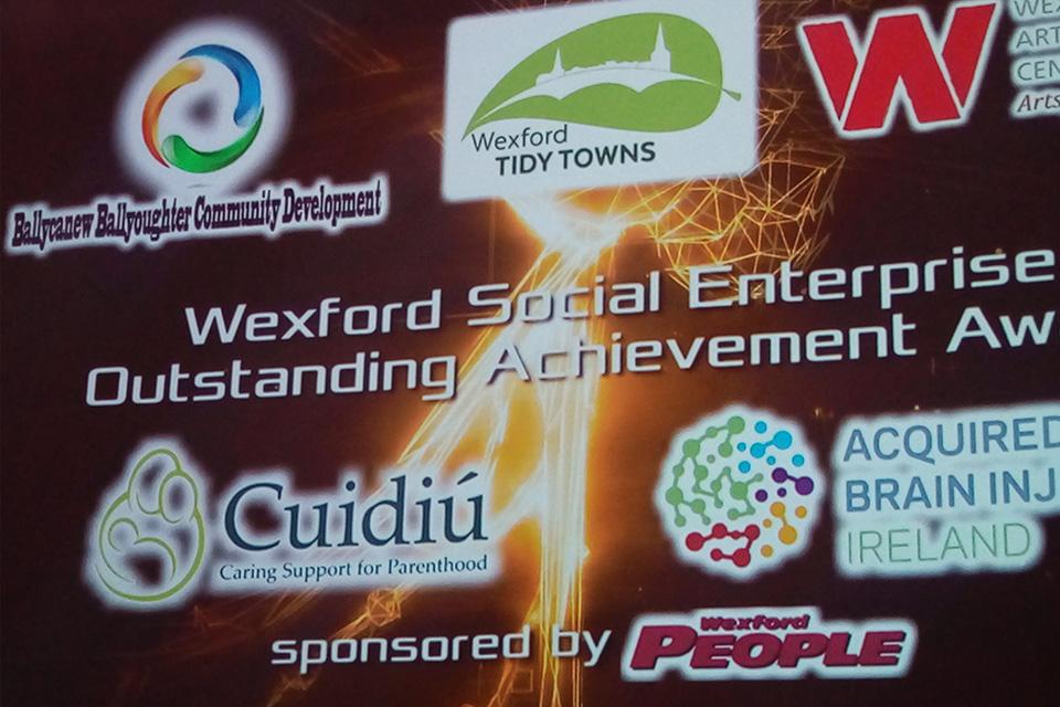 Wexford Social Enterprise Outstanding Achievement Award