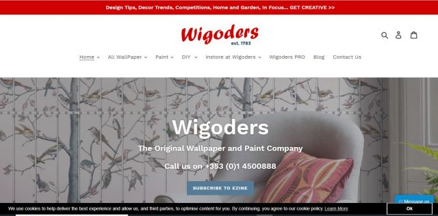 Wigoders web design by roz